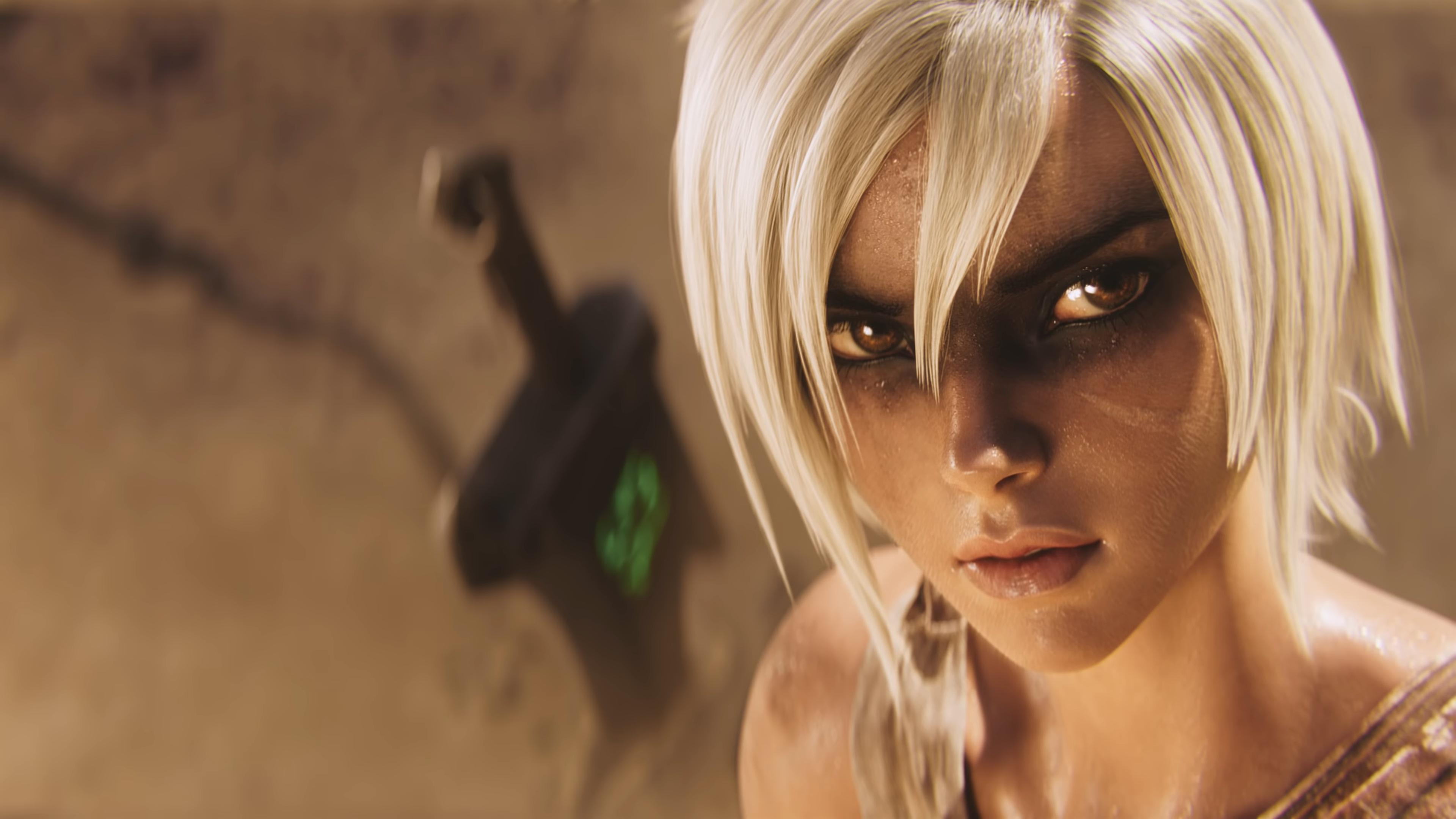 Riven Awaken Cinematic Ft Valerie Broussard Wallpapers Artist Riot Games League Of Legends Waifu Clan Anime Pics Digital Art