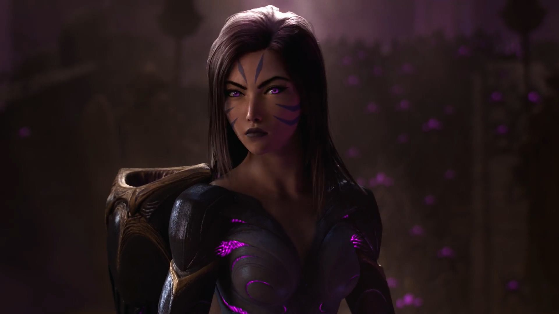 Warriors Season 2020 Cinematic Wallpapers From Animated Music Video Artist Riot Games League Of Legends Waifu Clan Anime Pics Digital Art